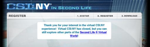 csiny portal message
