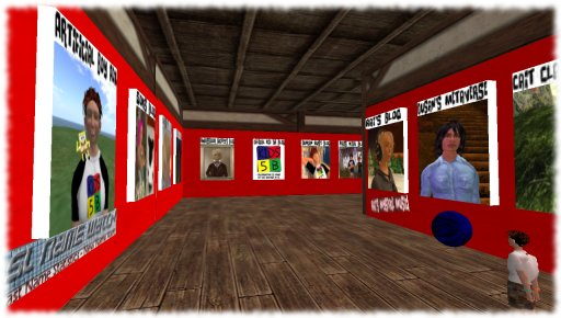 Kid Bloggers of SL Display inside